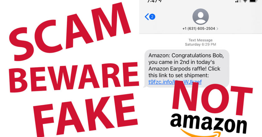 Watch Out for Amazon Scams